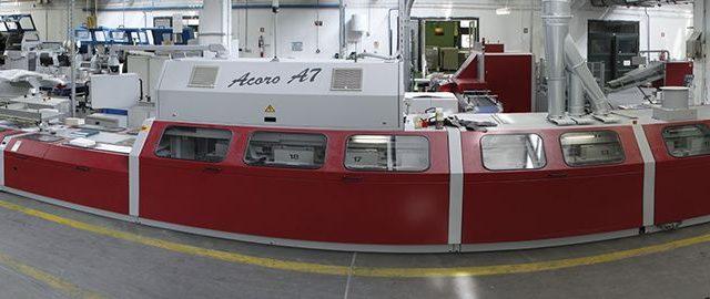 DIAMANT ÉS ACORO A7 ragasztókötő- és keménytáblás gépsor